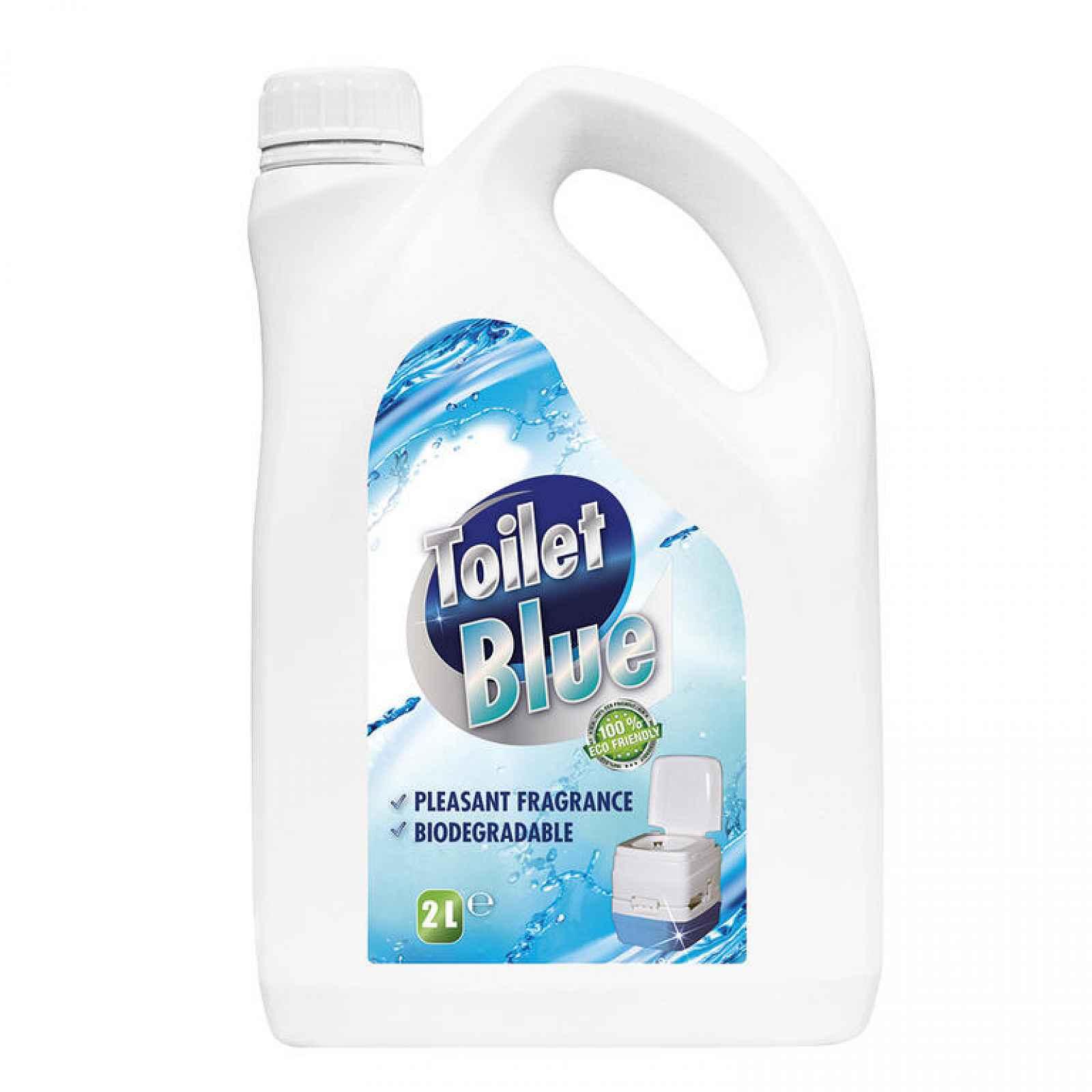 Náplň do chemické toalety BLUE 2 l, pro ODPADNÍ nádrž