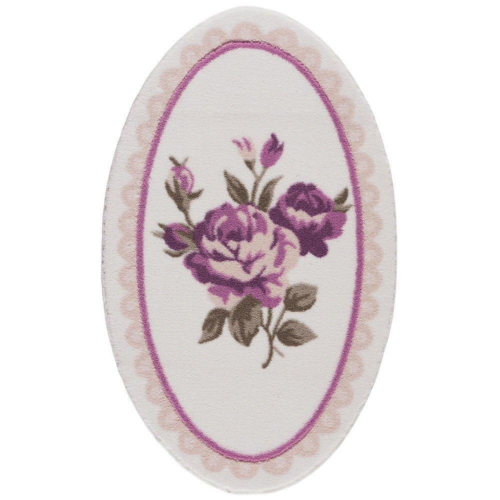 Koupelnová předložka Confetti Bathmats Rosa, 80 x 130 cm
