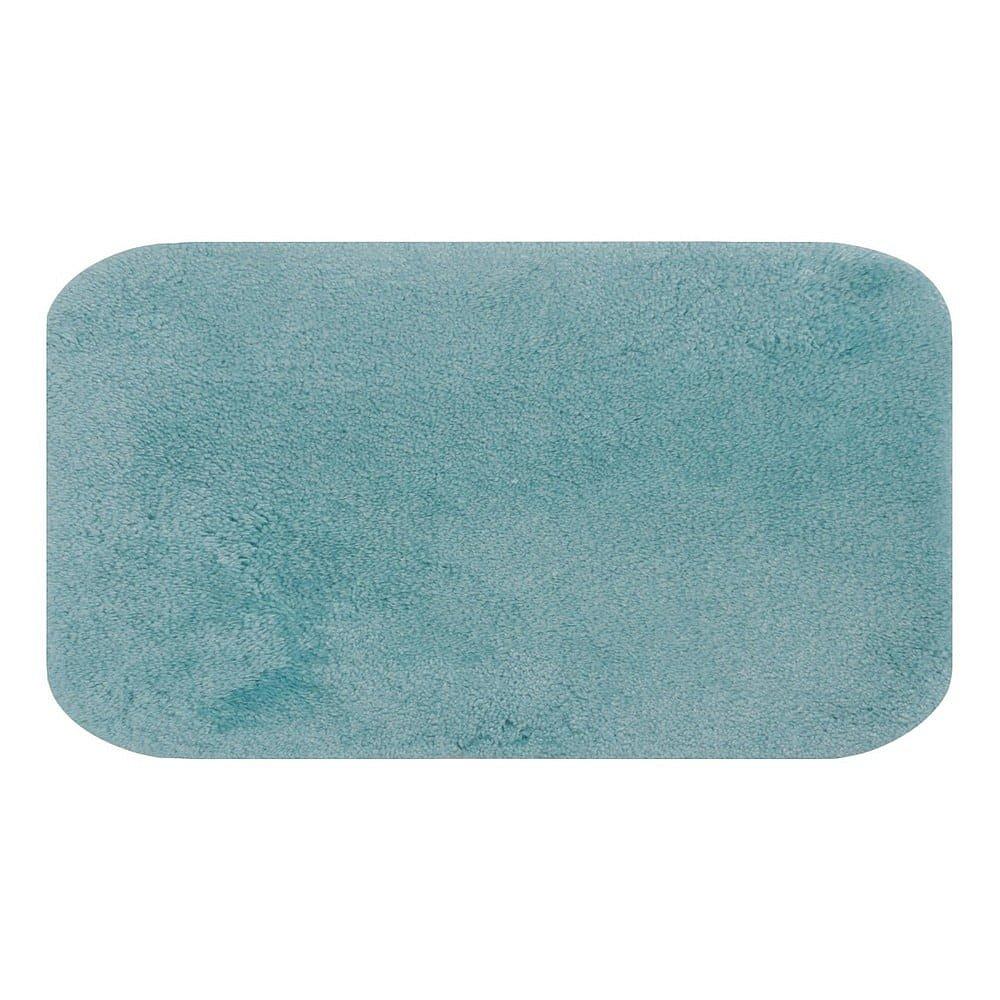 Tyrkysová předložka do koupelny Confetti Miami, 80x140cm
