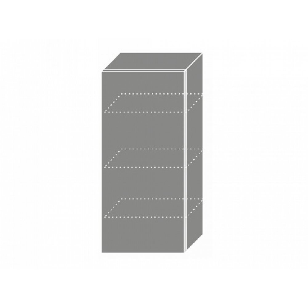 QUANTUM, skříňka horní W4 45, beige mat/grey
