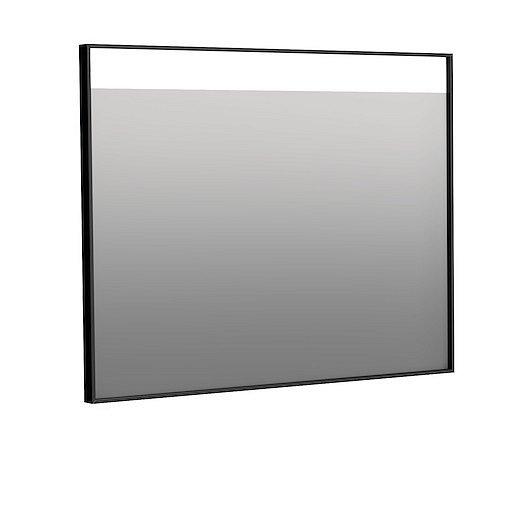 Zrcadlo Naturel 90x70 cm hliník černá ALUZ9070CLED