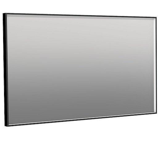 Zrcadlo Naturel 120x70 cm hliník černá ALUZ12070CLEDP