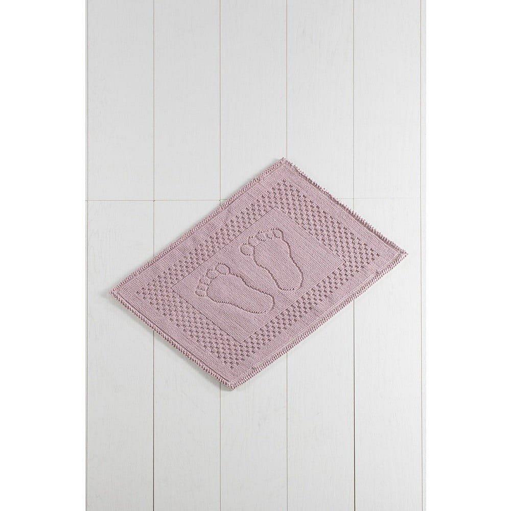 Růžová koupelnová předložka Carrisma Mento, 70 x 50 cm