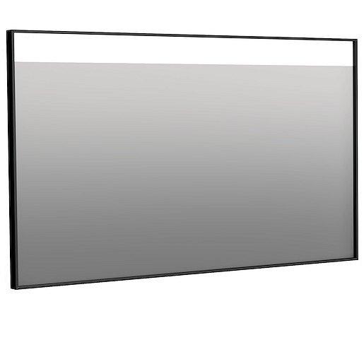 Zrcadlo Naturel 120x70 cm hliník černá ALUZ12070CLED