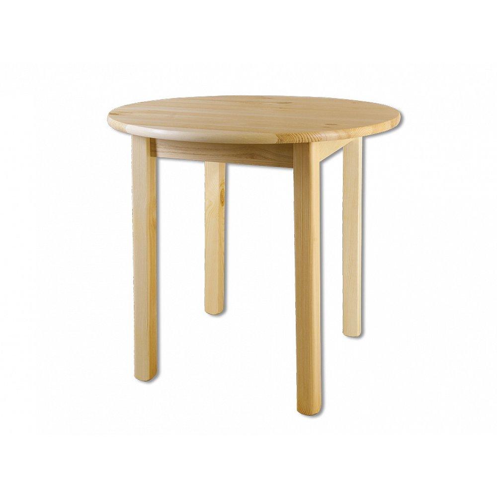 Kulatý jídelní stůl ST105, O100x75, moření: …