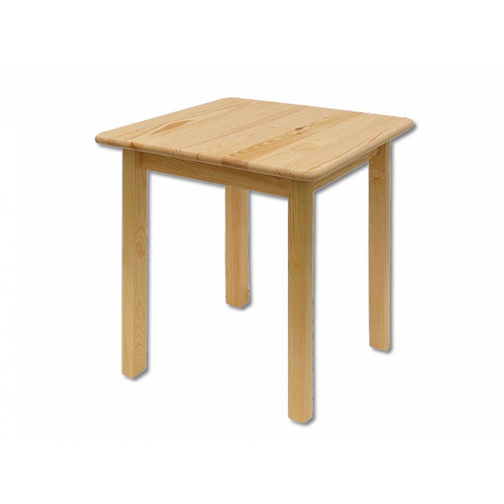 Čtvercový jídelní stůl ST106, 60x75x60, moření: …