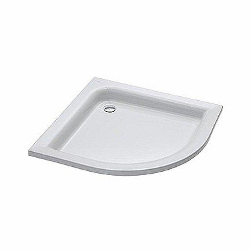 Sprchová vanička čtvrtkruhová Kolo Standard Plus 90x90 cm akrylát XBN1590000