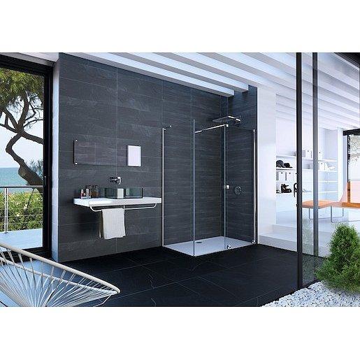 Boční zástěna ke sprchovým dveřím 100x200 cm Huppe Xtensa pure chrom lesklý XT0308.069.322