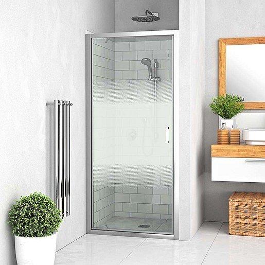 Sprchové dveře 80x190 cm Roth Lega Line chrom lesklý 551-8000000-00-21