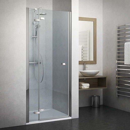 Sprchové dveře 140x201,7 cm levá Roth Elegant Line chrom lesklý 134-140000L-00-02