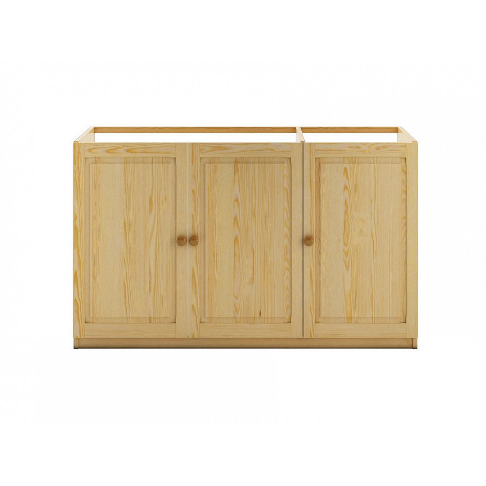 Dřevěná kuchyňská skříňka KW111, masiv borovice, moření: …