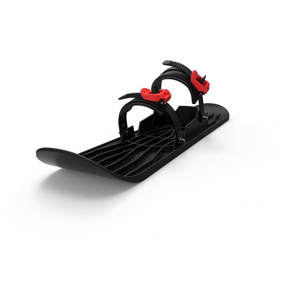 Plastová černá zimní lyže Gizmo Onefoot Miniski, 72 cm