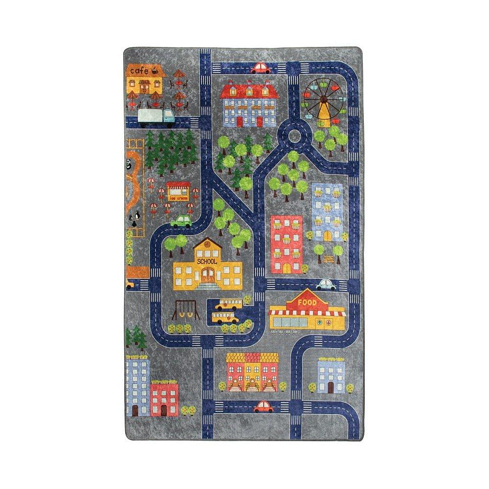 Dětský koberec Small Town, 140x190cm