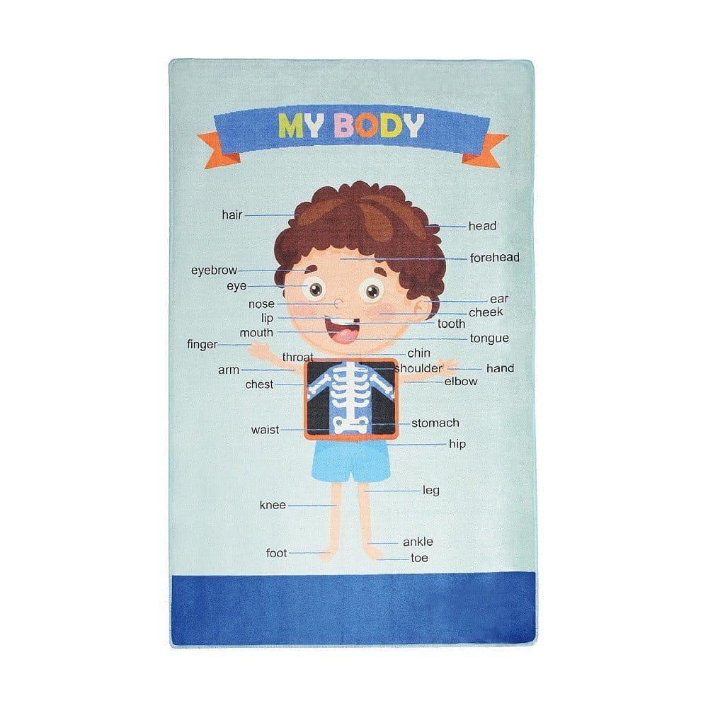 Dětský koberec My Body, 140x190cm