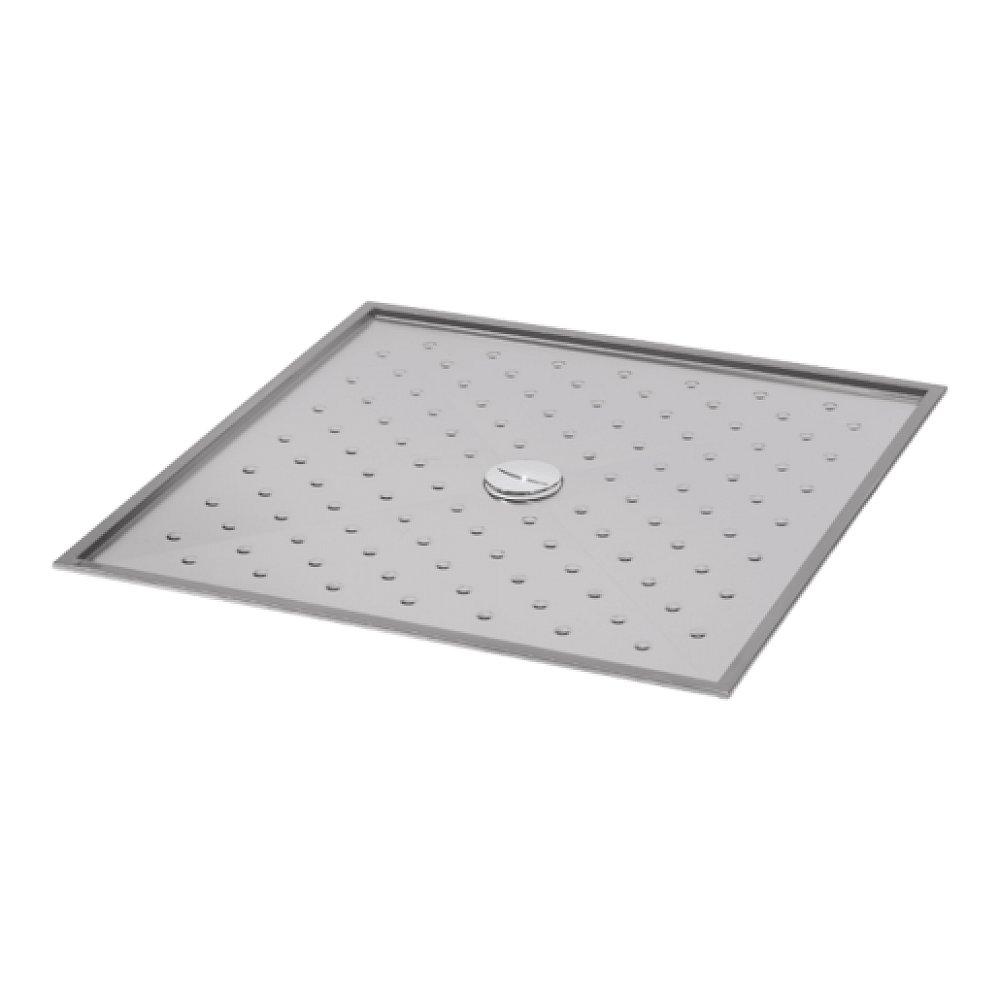 Sanela Nerezová sprchová vanička 1000 x 1000 x 15 mm SLSN10