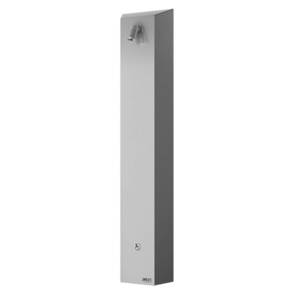Sanela SLSN 01P - Nerezový sprchový panel s integrovaným piezo ovládáním, 1 voda (SLSN01P)