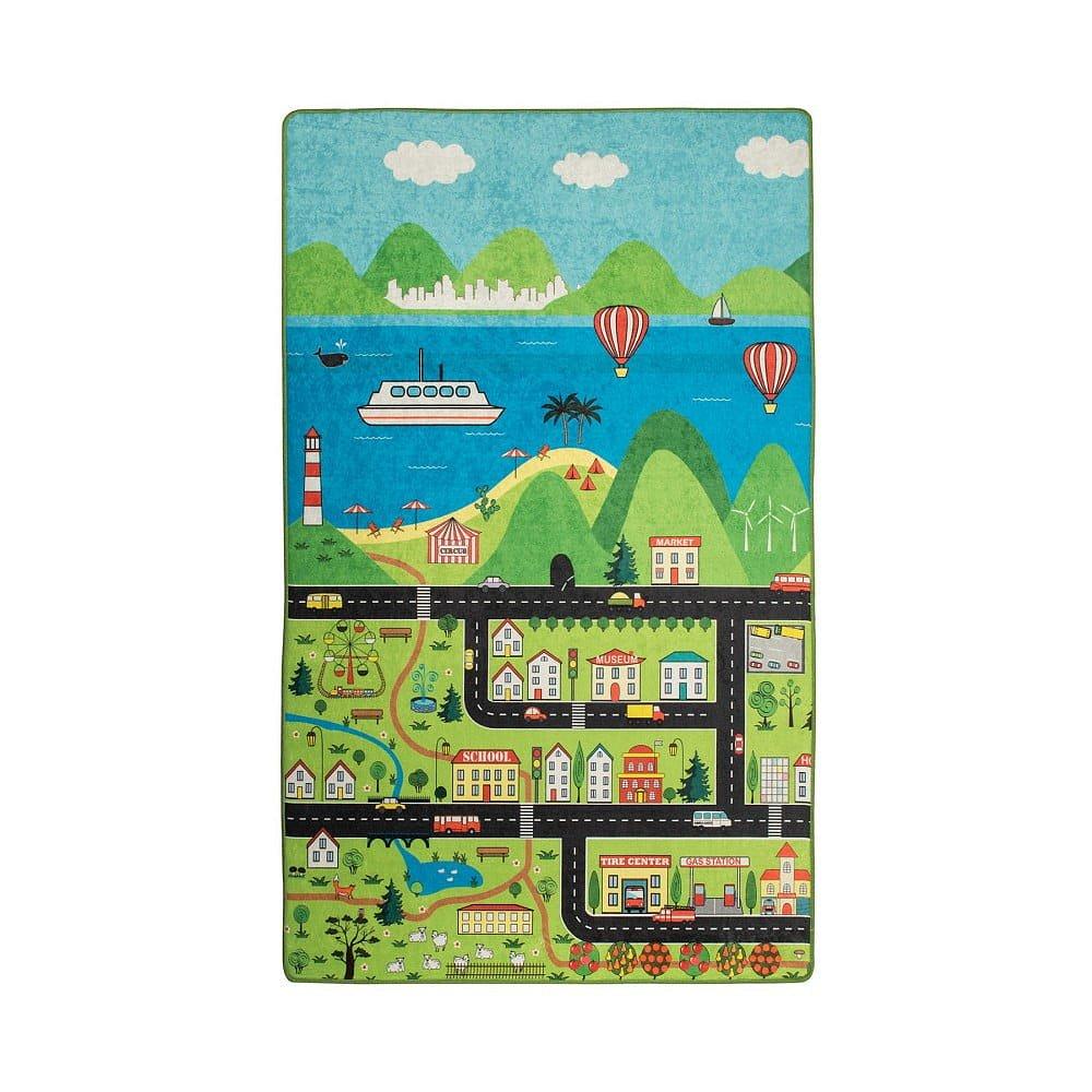 Dětský koberec Happy City, 100x160cm