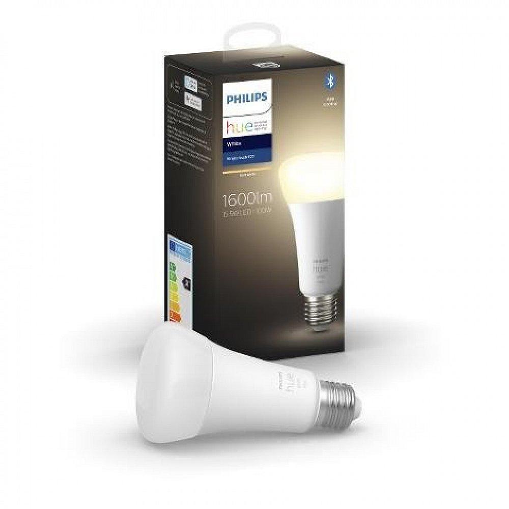 Žárovka LED Philips Hue Bluetooth, E27, 15,5 W, 1 600 lm