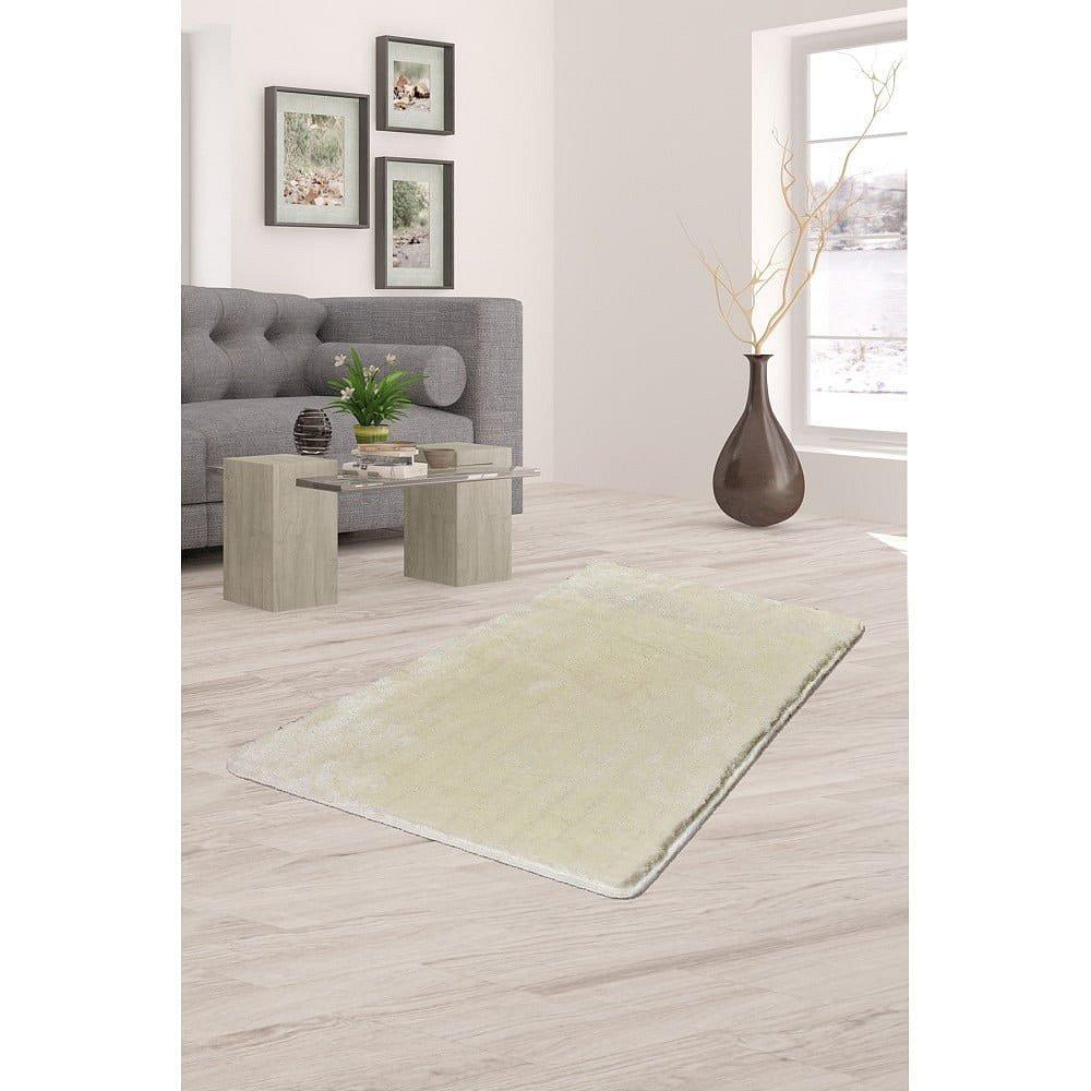 Krémově bílý koberec Milano, 120x70cm