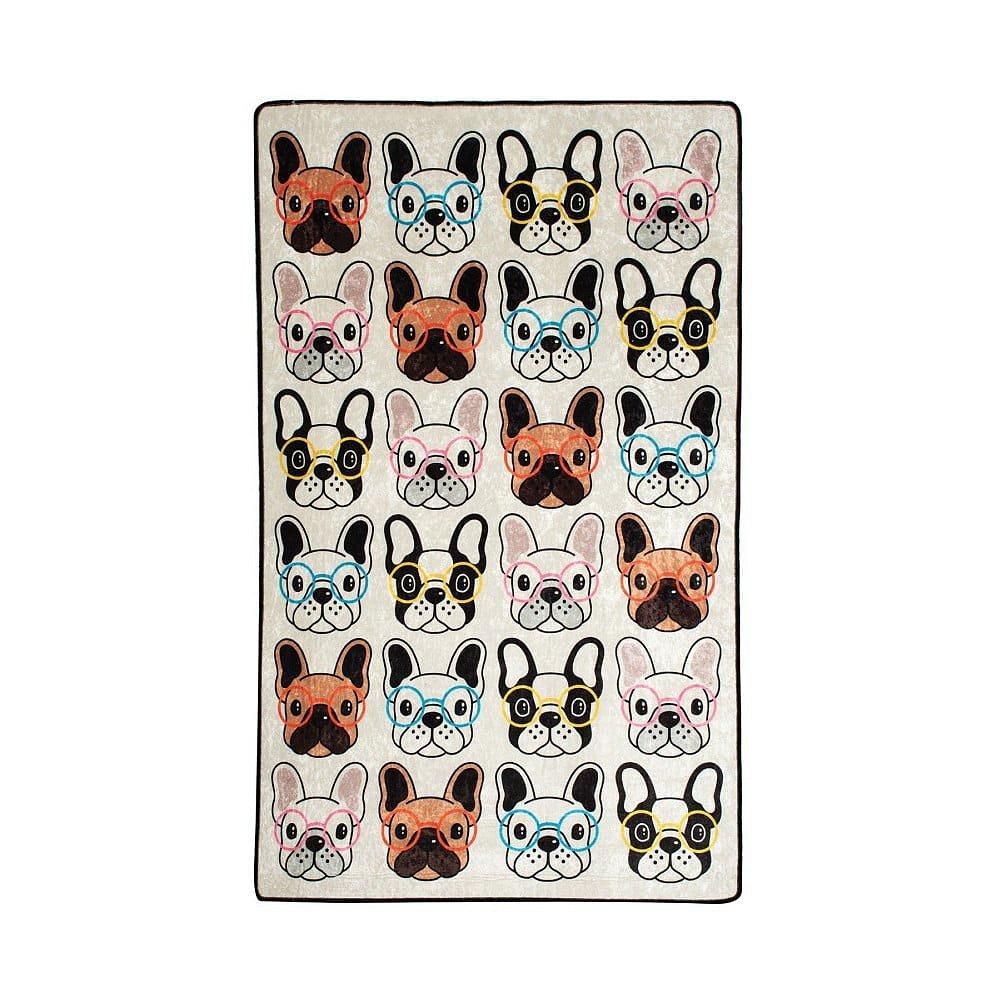 Dětský koberec Dogs, 100x160cm