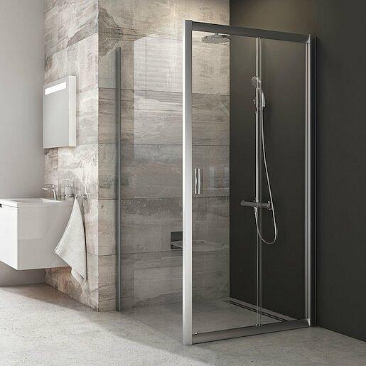 Boční zástěna ke sprchovým dveřím 100x190 cm Ravak Blix chrom matný 9BHA0U00Z1