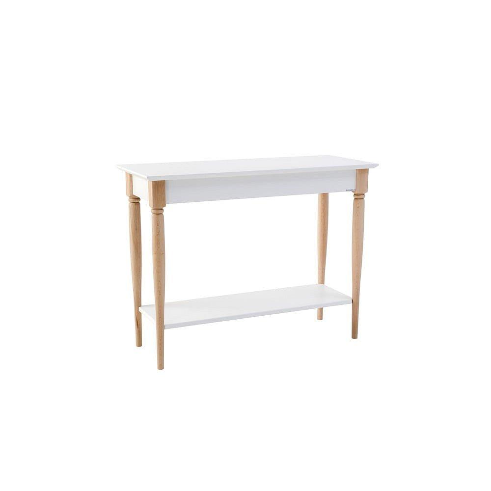 Bílý konzolový stolek Ragaba Mamo, šířka 105 cm