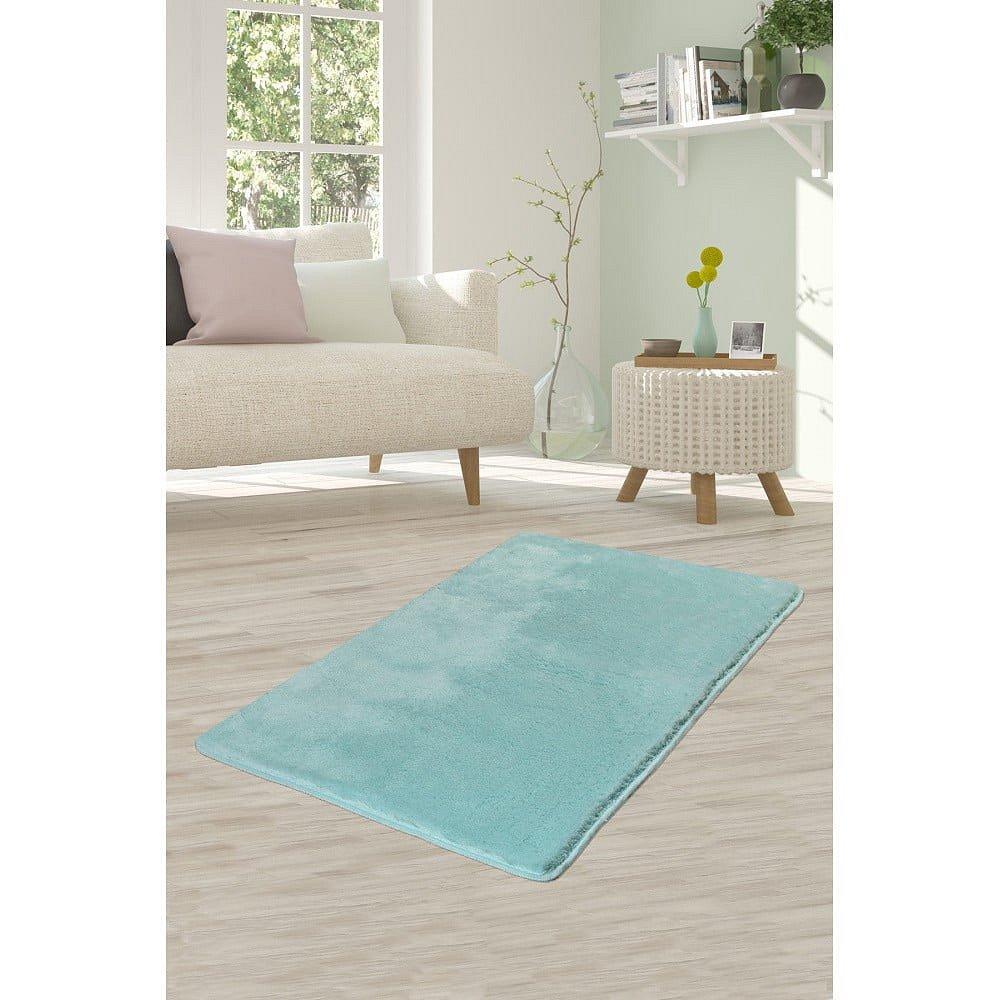 Světle tyrkysový koberec Milano, 120x70cm