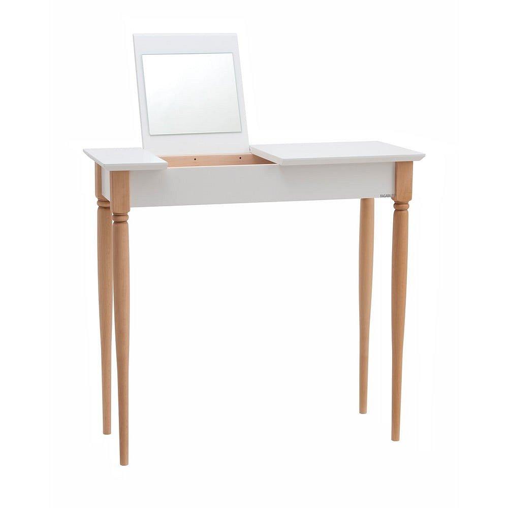Bílý toaletní stolek Ragaba Mamo, šířka 65 cm