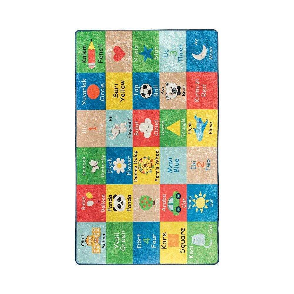 Dětský koberec Learning, 200x290cm