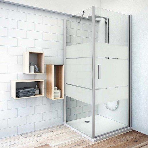 Boční zástěna ke sprchovým dveřím 100x200,8 cm levá Roth Tower Line chrom lesklý 725-100000L-00-20