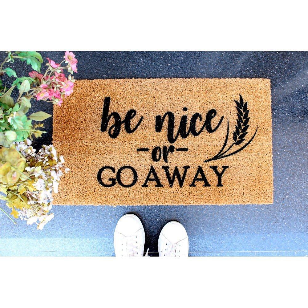 Rohožka Doormat Be Nice, 70 x 40 cm