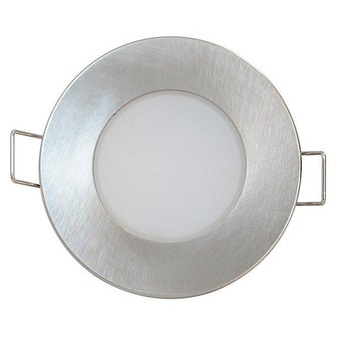 Svítidlo LED Greenlux Bono-R, 3000K, 5W, IP65 matný chrom
