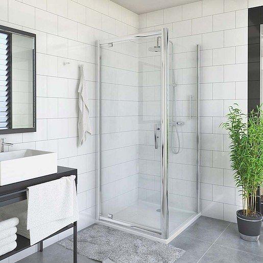 Boční zástěna ke sprchovým dveřím 100x200 cm Roth Proxima Line chrom lesklý 527-1000000-00-15