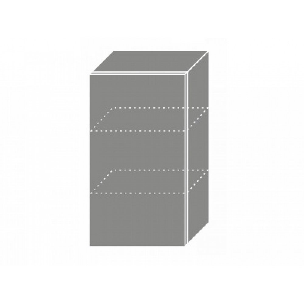 QUANTUM, skříňka horní W2 40, beige mat/lava