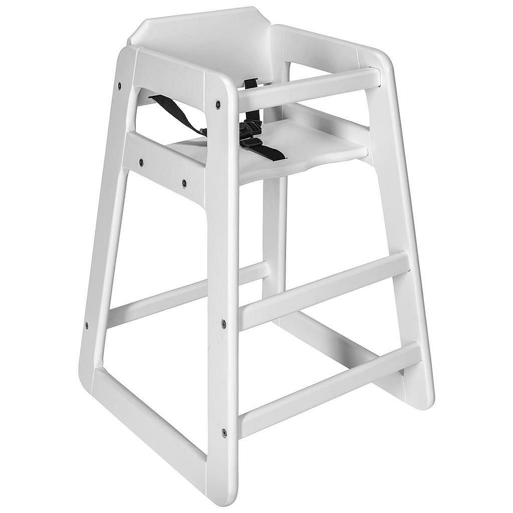 My Baby Lou Vysoká Židle, Borovice, Bílá - 002786000801