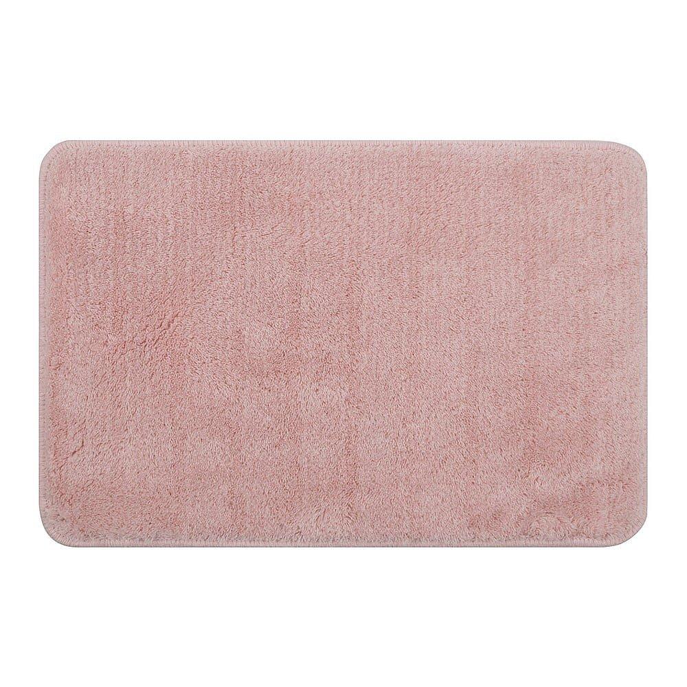 Sada 3 růžových koupelnových předložek Priya