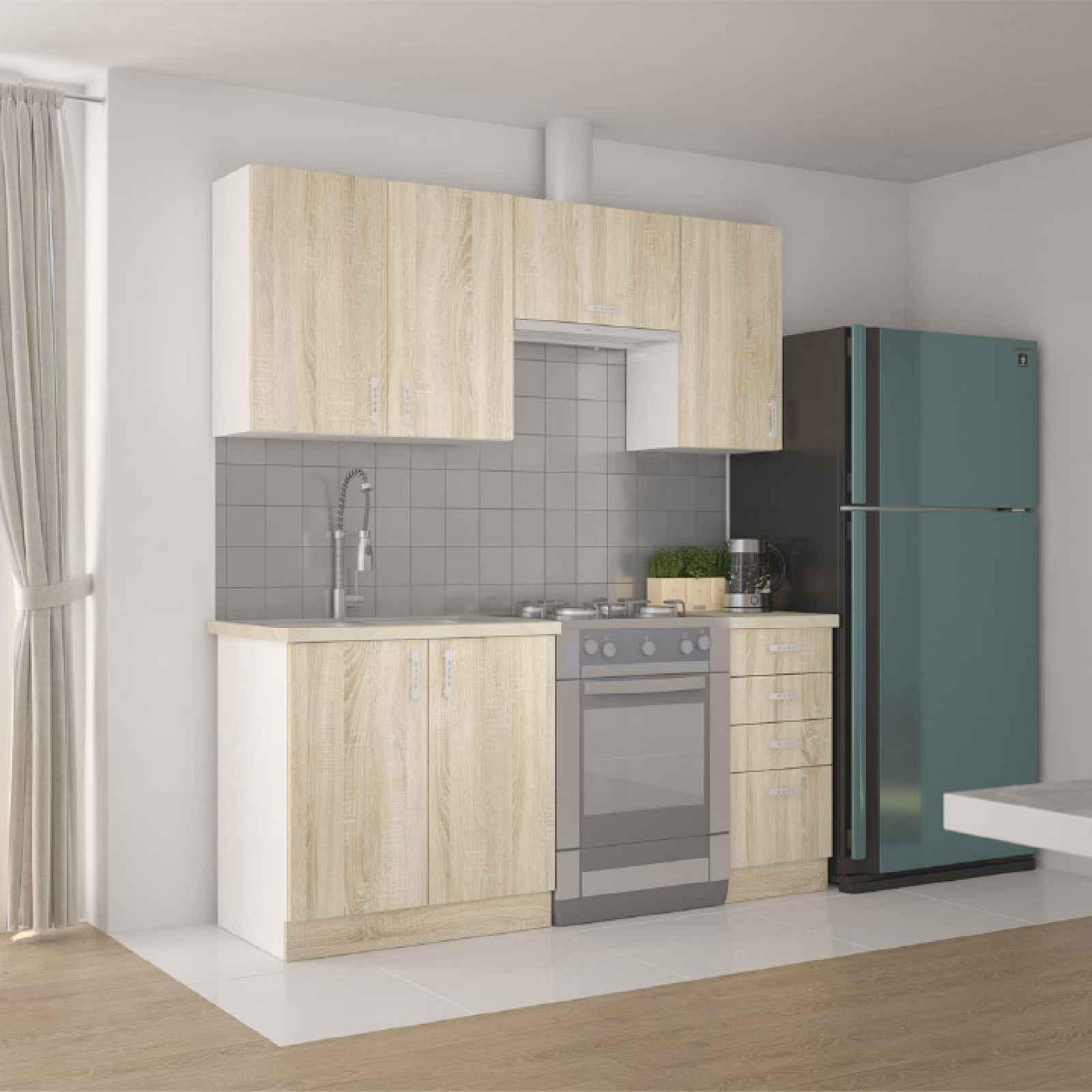 Kuchyňská linka, dub sonoma, SARITA ZZ 0000211855 Tempo Kondela