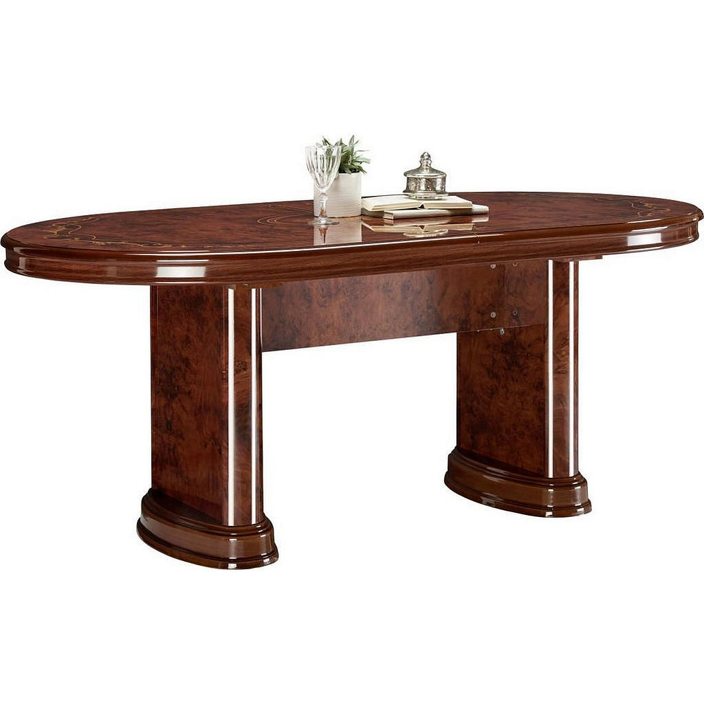 Cantus Jídelní Stůl, Barvy Ořechu, Barvy Zlata - 002358000513