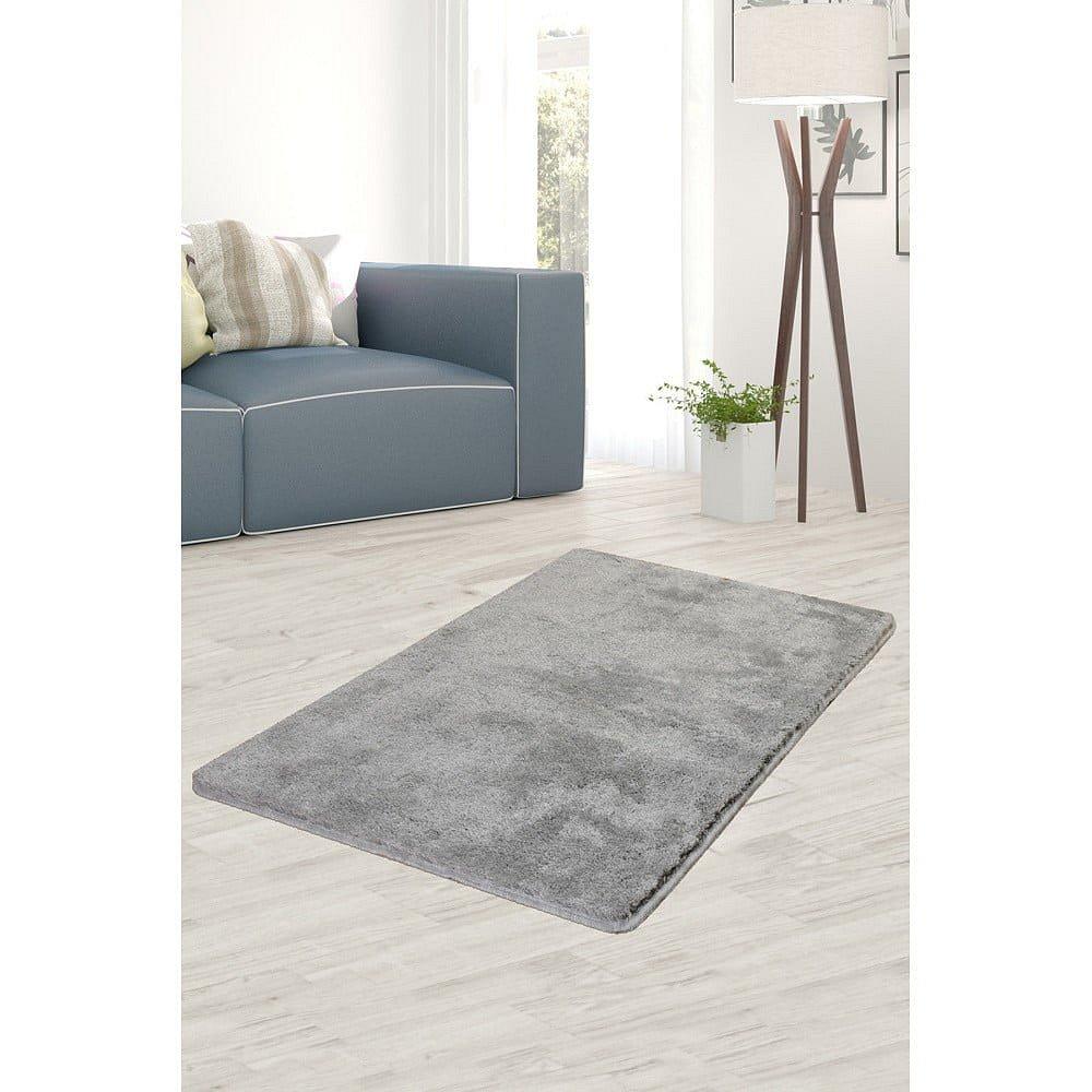 Světle šedý koberec Milano, 140x80cm