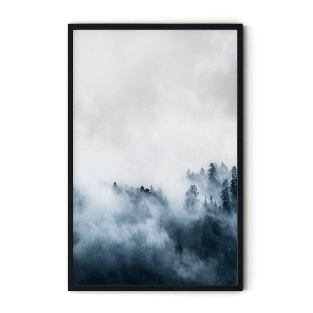 Plakát v rámu Insigne Foggy,46x72cm