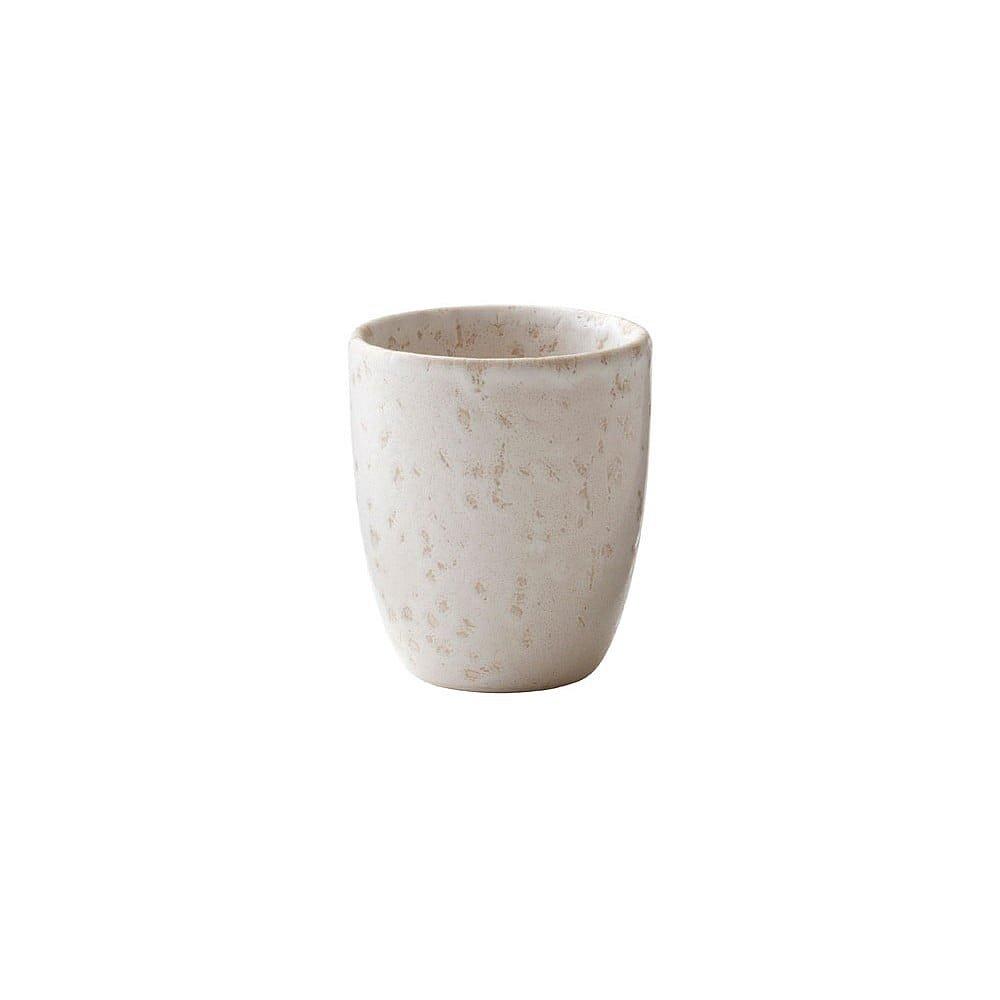 Krémový kameninový hrnek na espresso Bitz Basics Matte Cream, 100 ml
