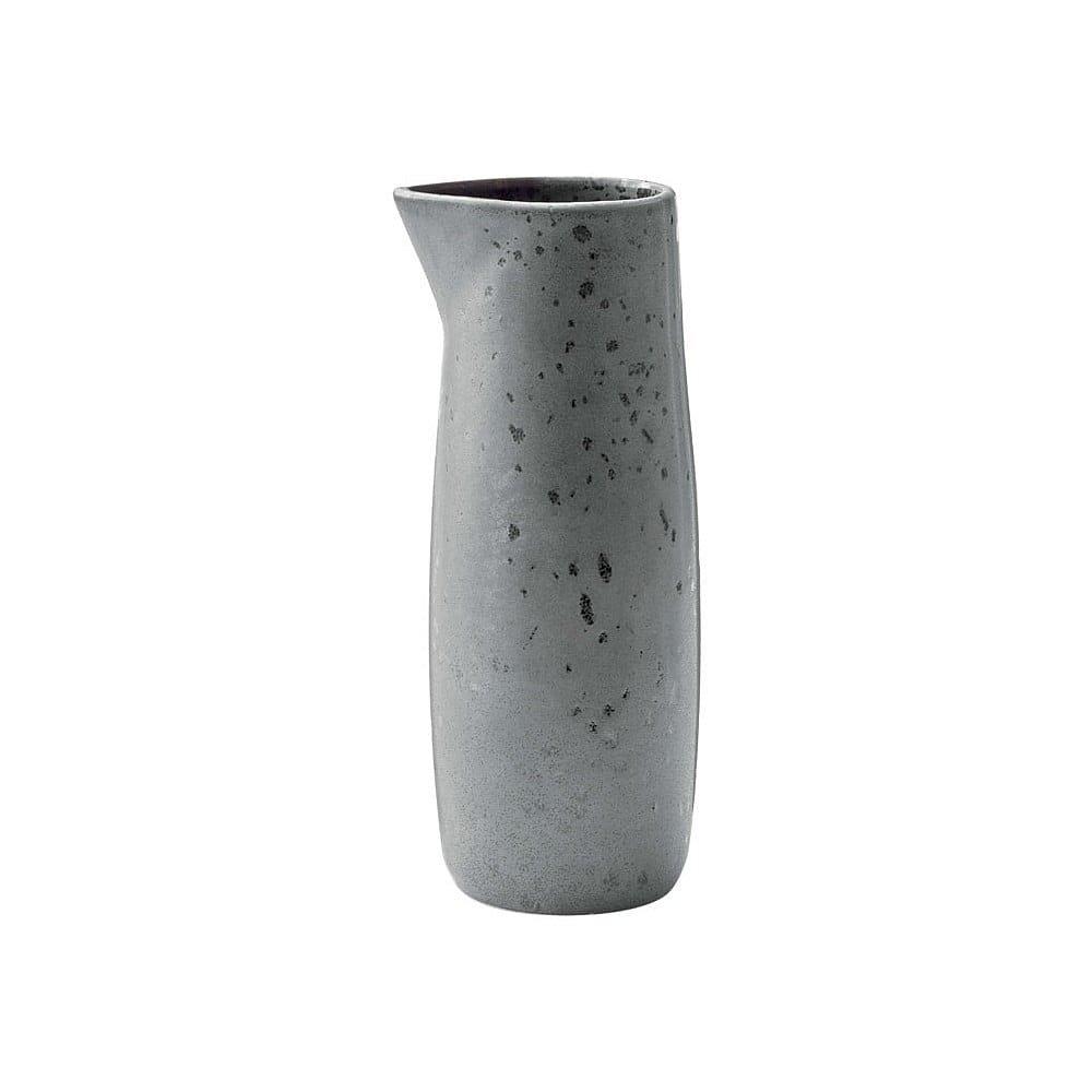 Šedý kameninový džbánek na mléko Bitz Basics Grey, 0,5 l
