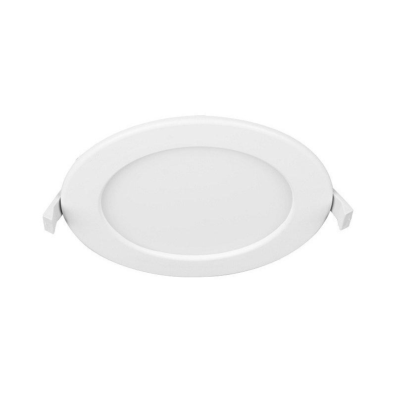 Svítidlo LED Panlux CCT Kruh, 3000–6000K, 24W, IP44 bílá