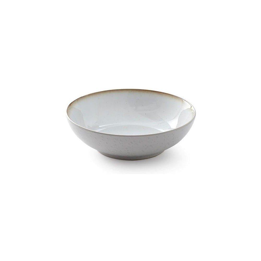Krémová kameninová mísa na salát Bitz Basics Cream, ⌀ 24 cm