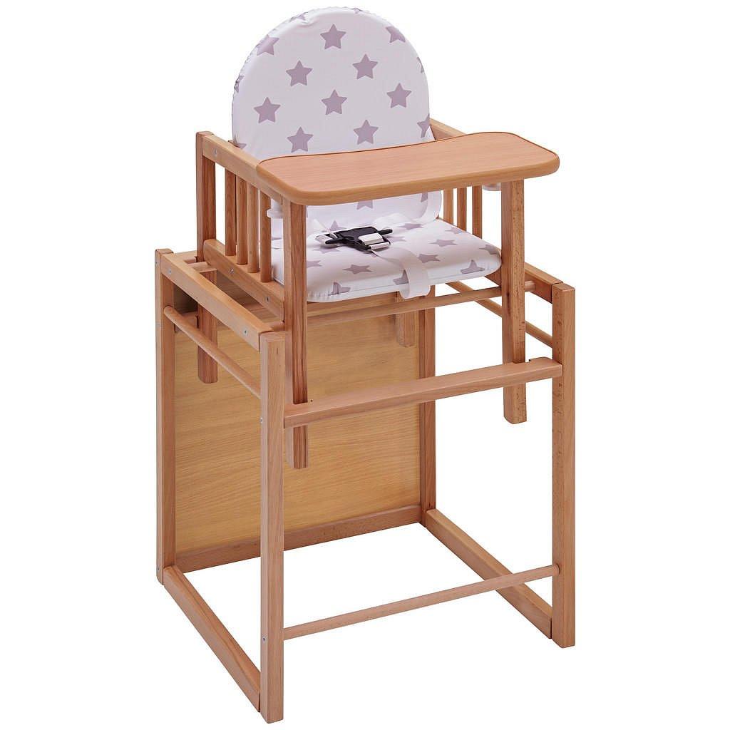 My Baby Lou Kombinovaná Vysoká Židle, Buk, Přírodní Barvy, Barvy Buku - Vysoké židličky - 008798000303