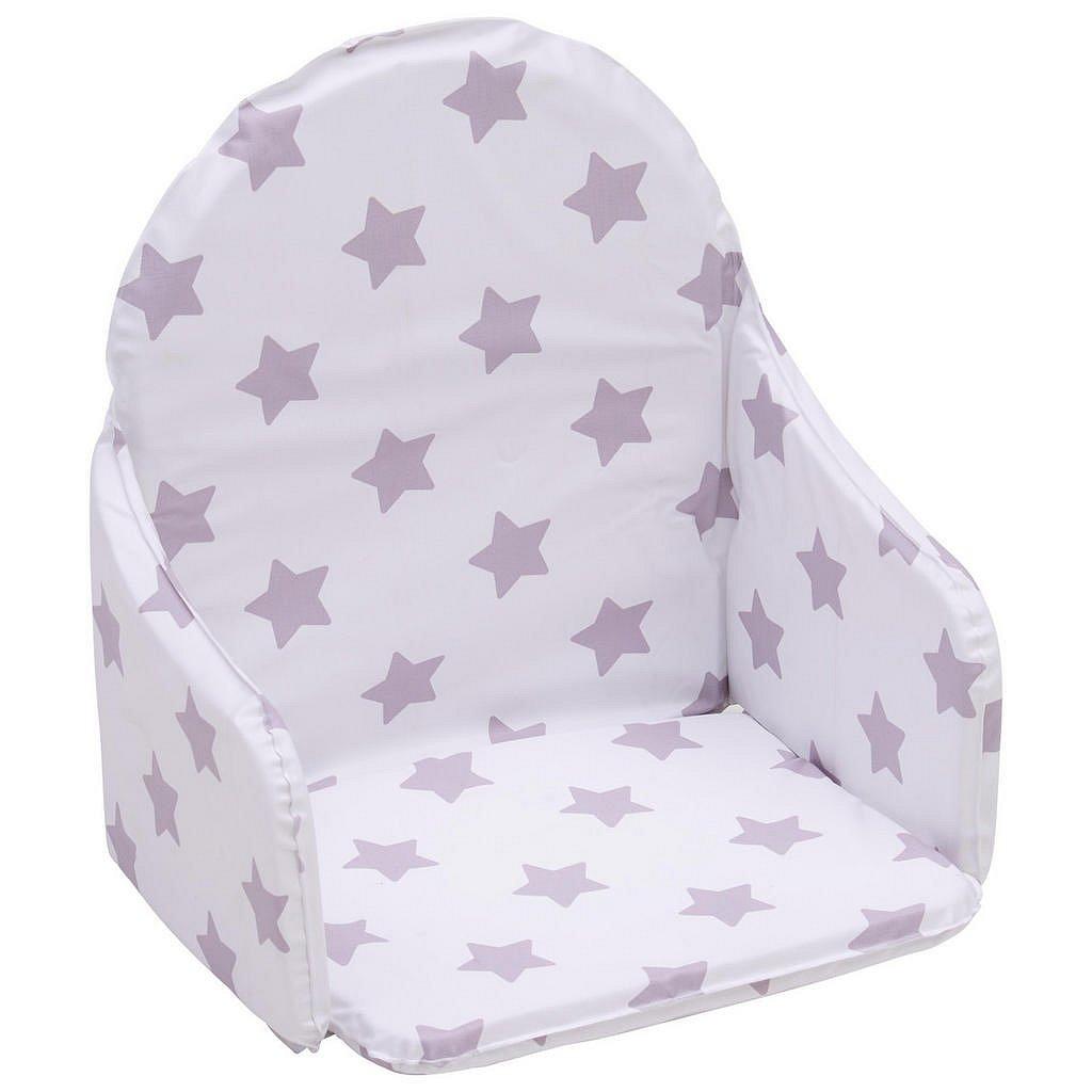My Baby Lou Vložka Do Jídelní Židličky, Šedá, Bílá - Vysoké židličky - 008798000304