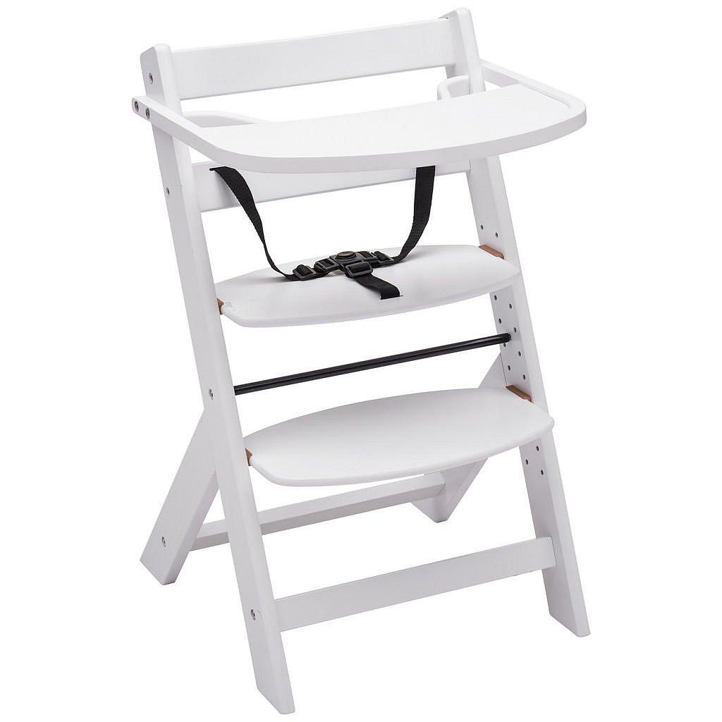 My Baby Lou Vysoká Židle, Buk, Bílá - 002786000703