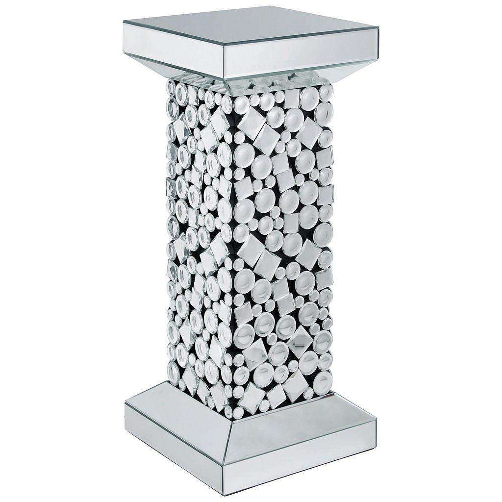 Ambia Home Odkládací Stolek, Černá, Barvy Stříbra - Odkládací stolky - 0089370183