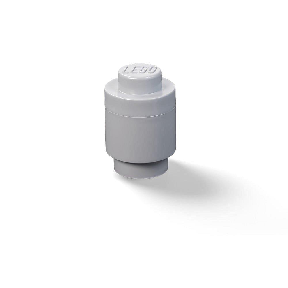 Dětská tmavě šedá úložná dóza LEGO®