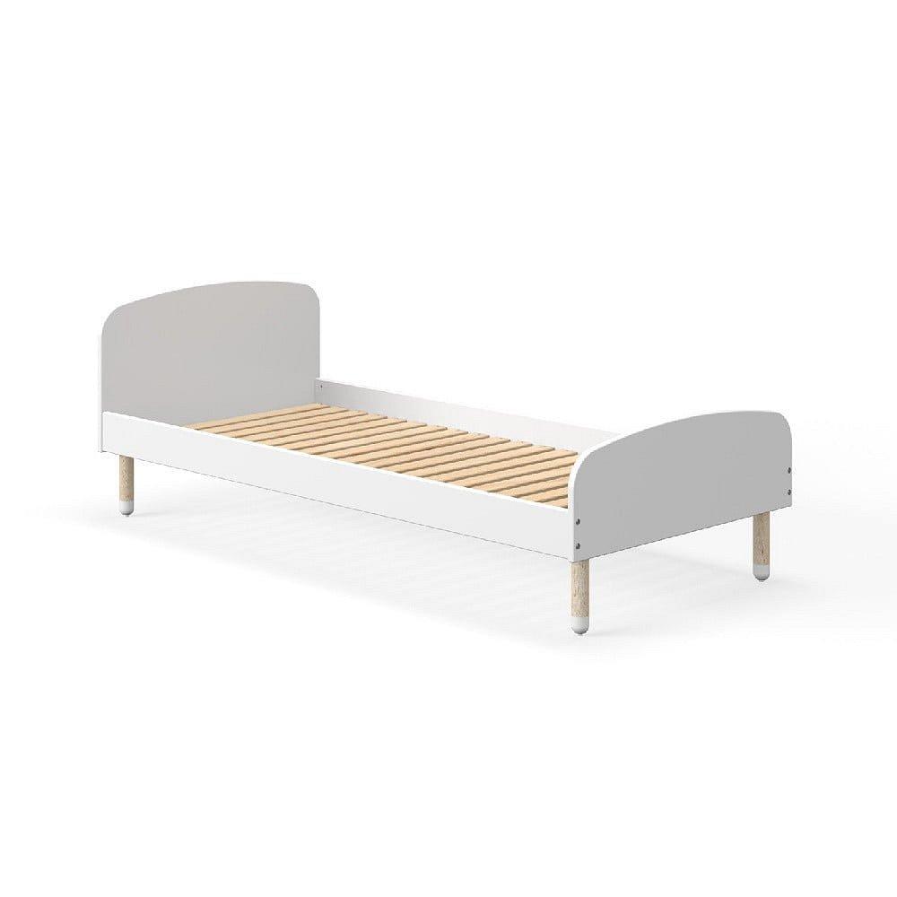 Bílá dětská postel Flexa Play, 90 x 190 cm